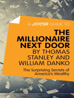 A Joosr Guide to... The Millionaire Next Door by Thomas Stanley and William Danko
