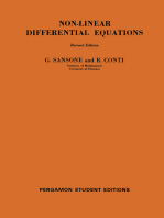 Non-Linear Differential Equations