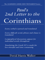 Paul's 2nd Letter to the Corinthians