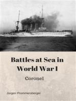 Battles at Sea in World War I
