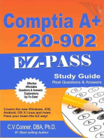 Comptia A+ 220-902 Q & A Study Guide: Comptia 21 Day 900 Series, #4