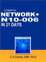 Comptia Network+ In 21 Days N10-006 Study Guide: Comptia 21 Day 900 Series, #3