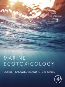 Marine Ecotoxicology: Current Knowledge and Future Issues
