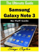 Samsung Galaxy Note 3 Guide