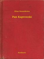 Pan Kaprowski
