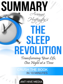 Arianna Huffington's The Sleep Revolution: Transforming Your Life, One Night at a Time | Summary