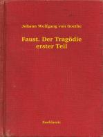 Faust. Der Tragödie erster Teil