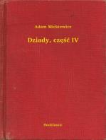 Dziady, część IV