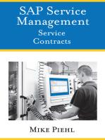 SAP Service Management: Service Contracts