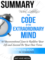 Vishen Lakhiani's The Code of the Extraordinary Mind: 10 Unconventional Laws to Redfine Your Life and Succeed On Your Own Terms | Summary