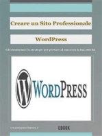 Creare un sito Web professionale Wordpress