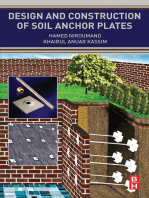 Design and Construction of Soil Anchor Plates