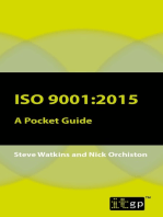ISO 9001: A Pocket Guide