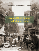 Law and the Economy in Colonial India