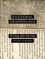 Cultural Graphology: Writing after Derrida