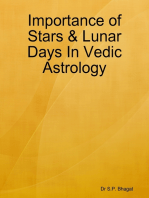 Importance of Stars & Lunar Days In Vedic Astrology
