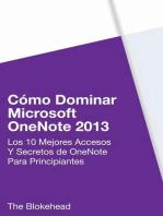 Cómo dominar Microsoft OneNote 2013