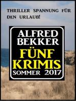 Fünf Krimis Sommer 2017