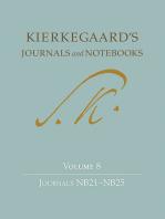 Kierkegaard's Journals and Notebooks, Volume 8