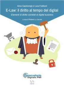 E-Law: il diritto al tempo del digital - Elementi di diritto correlati al digital business