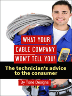 What Your Cable Company Won't Tell You
