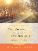 Cuando una mujer se siente sola: Encuentra fortaleza y esperanza en tu vida