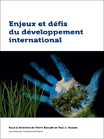 Enjeux et défis du développement international