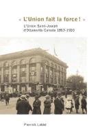 « L'Union fait la force! »