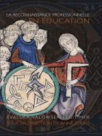 La Reconnaissance professionnelle en éducation