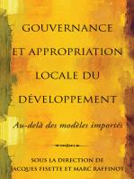 Gouvernance et appropriation locale du développement