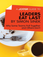 A Joosr Guide to... Leaders Eat Last by Simon Sinek