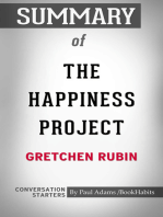 Summary of The Happiness Project by Gretchen Rubin | Conversation Starters