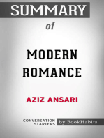Summary of Modern Romance by Aziz Ansari | Conversation Starters