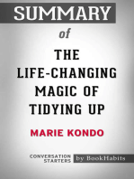 Summary of The Life-Changing Magic of Tidying Up by Marie Kondo | Conversation Starters