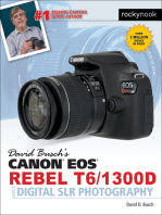 David Busch's Canon EOS Rebel T6/1300D Guide to Digital SLR Photography