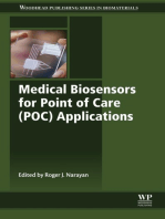 Medical Biosensors for Point of Care (POC) Applications
