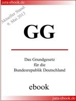 GG - Grundgesetz für die Bundesrepublik Deutschland