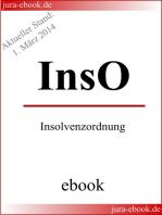 InsO - Insolvenzordnung - E-Book - Aktueller Stand