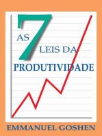 As Sete Leis da Produtividade