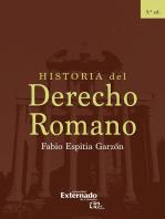 Historia del Derecho Romano: 5 Edición
