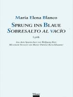 Sprung ins Blaue / Sobresalto al vacío