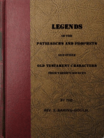 Legends of the Patriarchs and Prophets and othtacters from Various Sources