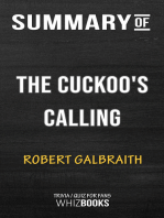 Summary of The Cuckoo's Calling