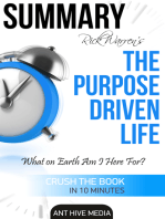 Rick Warren's The Purpose Driven Life: What on Earth Am I Here For? | Summary
