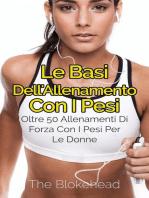 Le basi dell'allenamento con i pesi