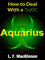 How To Deal With A Toxic Aquarius