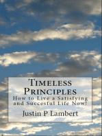 Timeless Principles