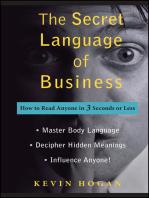 The Secret Language of Business
