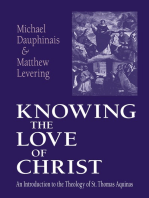 Knowing the Love of Christ