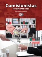 Comisionistas 2016: Tratamiento fiscal
